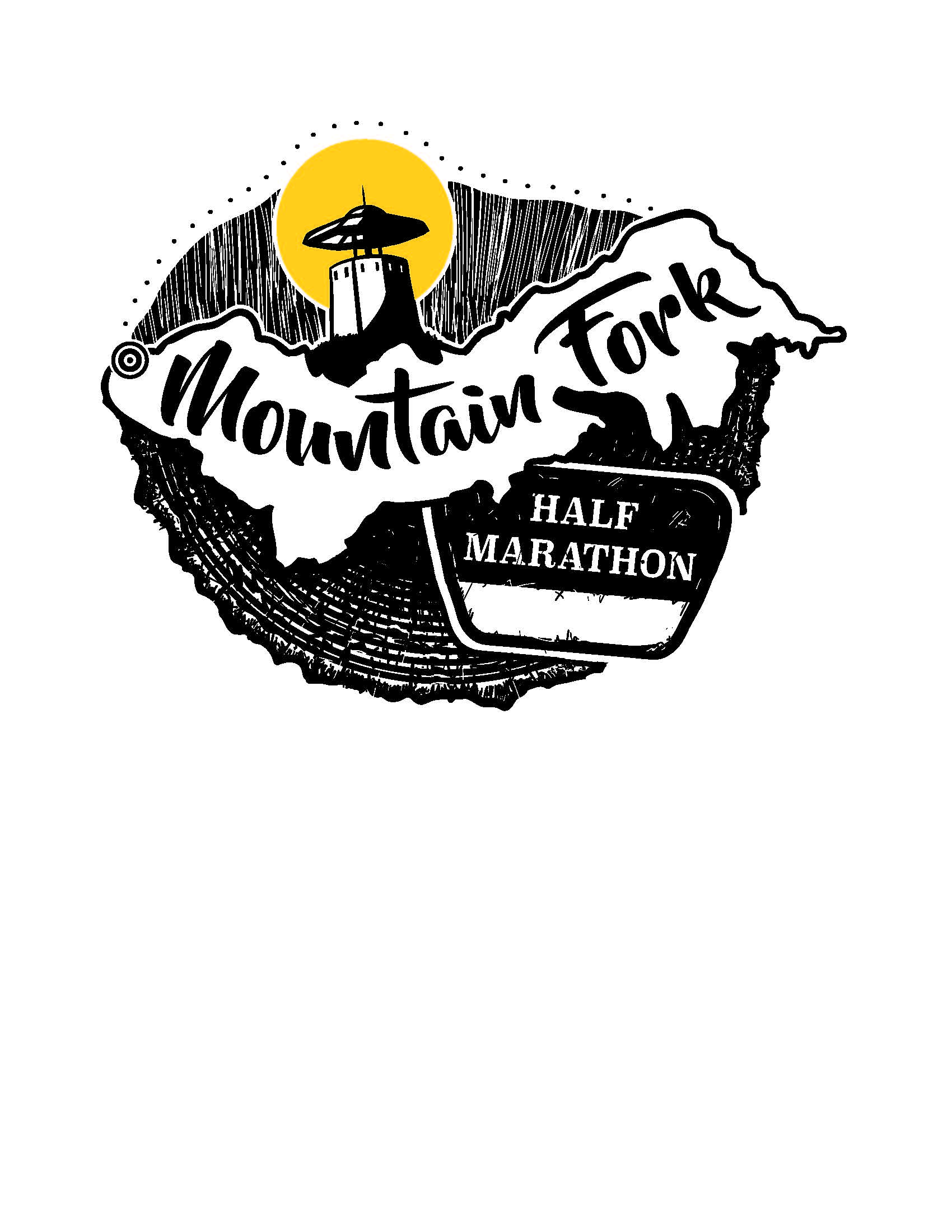 Photo of Mountain Fork Half Marathon logo